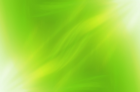 green brush: Abstract green curves background.