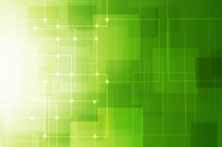 cool background: Abstract green technology background
