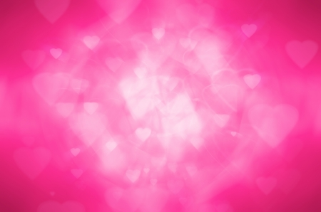 pink heart abstract background photo