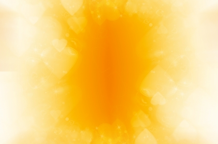 yellow abstract background wiht heart