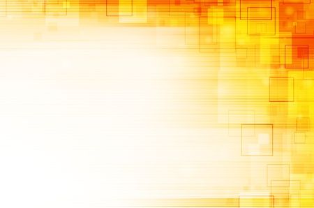virtual technology: yellow technical abstract background