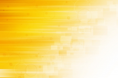 yellow on line: Abstract yellow technology background.  Stock Photo