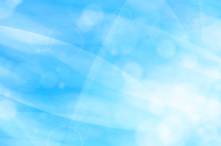 abstract blue light background  photo
