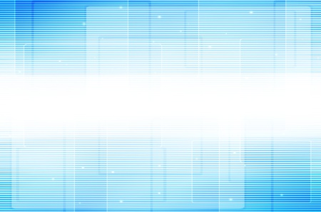 Abstract blue line tech background.  photo