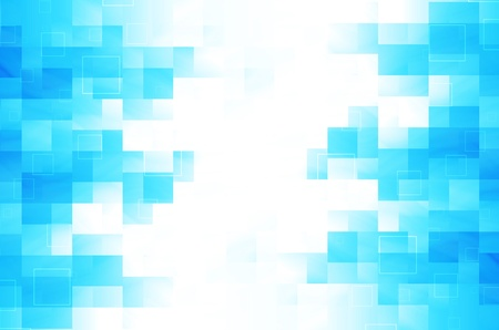 blue square abstract background  Stock Photo