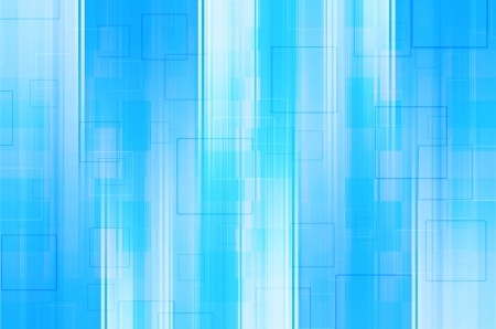 Abstract blue with square background.