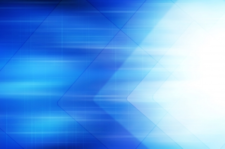 internet speed: Abstract blue technology background. Stock Photo