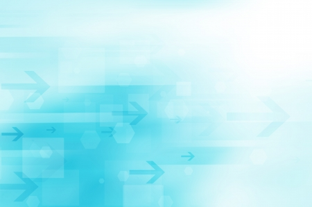 blue abstract technology background  Stock Photo