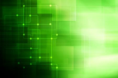 dark green technology background Stock Photo