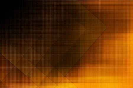 abstract arrow on dark orange background