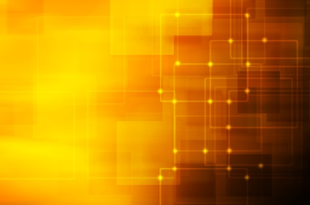 dark yellow technology background