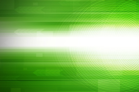 abstract green design hi-tech background.