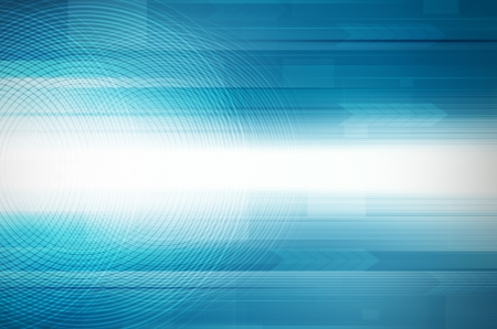 Abstract blue design Hi-Tech background.  photo