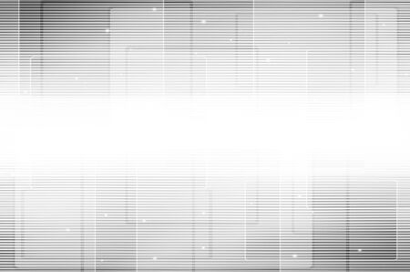 Abstract gray line tech background. Stock Photo