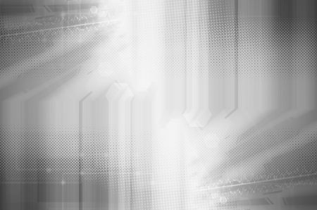 abstract: Abstract gray technology background.