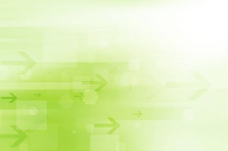 green abstract technology background. Stock Photo