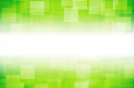 green hi-tech abstract background