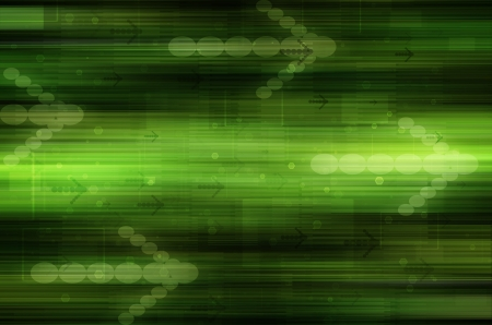 Abstract green technical background. Stock Photo