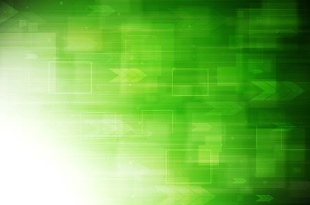 Abstract green tech background.