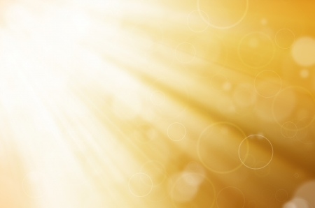yellow light with circles background Stock Photo