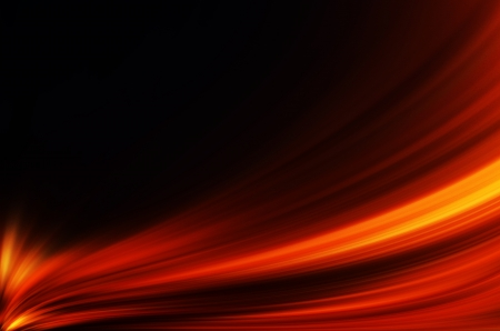 abstract red lines on dark background Stock Photo
