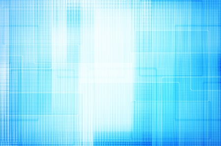 abstract square on blue background photo