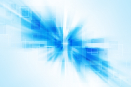 blue tech abstract background photo