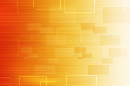yellow technical abstract background