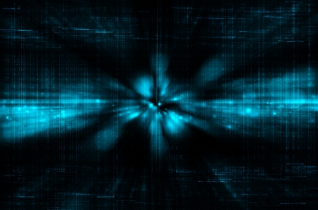 abstract dark blue technology background photo