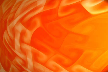Abstract orange wave background. photo
