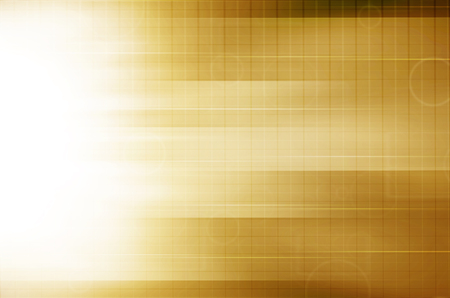 Abstract yellow technology background. photo