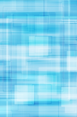 blue abstract technology background  photo