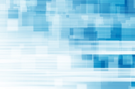 Blue square abstract background. Stock Photo