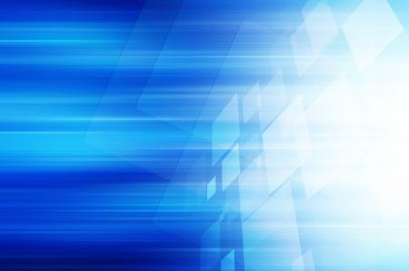 v�locit�: technologie bleu abstrait Banque d'images