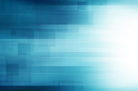 抽象的なブルー テクノロジー。
