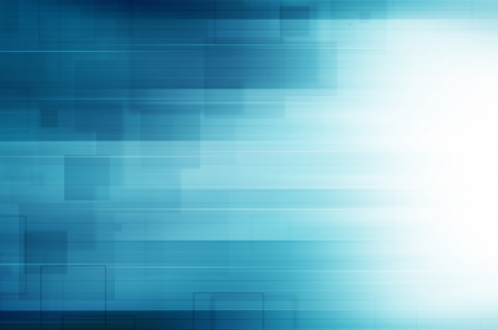 illustration background: Abstract blue technology .