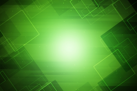Bright green hi-tech abstract background. Stock Photo