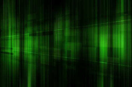 negro: abstracto verde y la tecnología fondo negro.