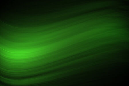 greenness: Green wave lines abstract background.