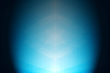 light on dark blue background Stock Photo