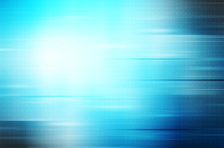 abstract lines on blue background Stock Photo