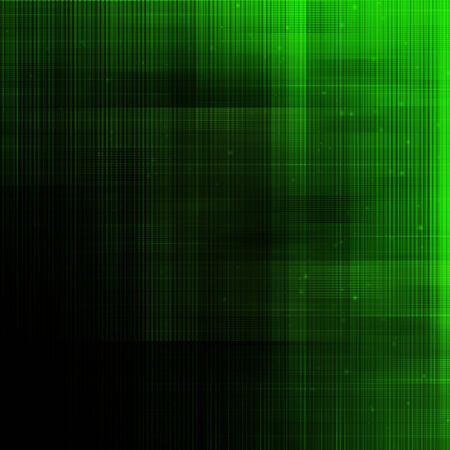 Abstract lines on dark green background. Stock Photo