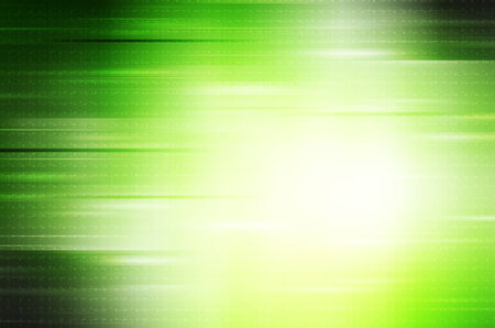 abstract lines on green background Stock Photo