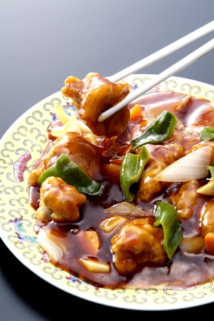 Chinese food is cooked with pork and vegetables Stock Photo - 12857081