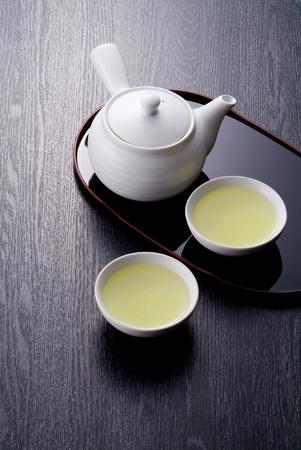 日本のお茶の時間の伝統的な文化のイメージ 写真素材