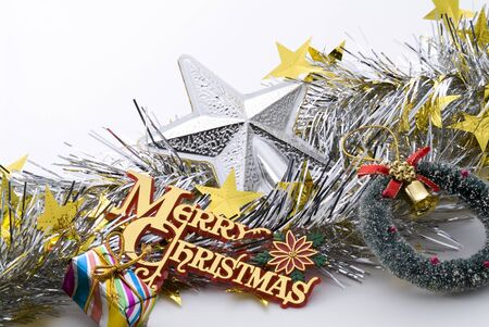 door leaf: christmas ornaments of christmas image