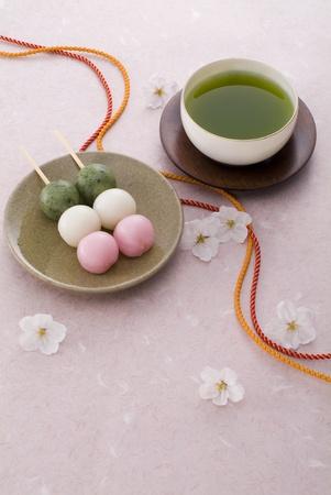 桜の花を見に行って 写真素材