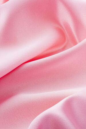 Abstract pink satin background Stock Photo - 13237953