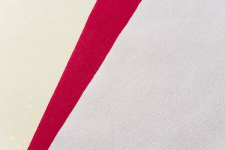 red and white japanese paper