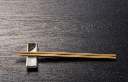 日本箸木製ブラック